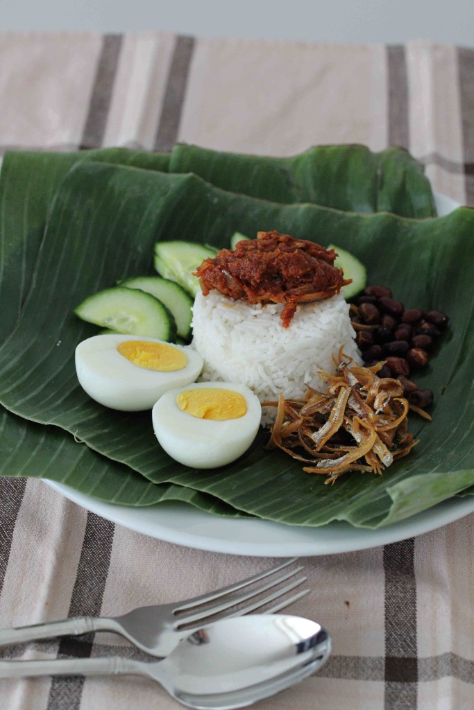 how to cook nasi lemak without coconut milk